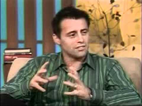 Matt Leblanc on Ellen 2011