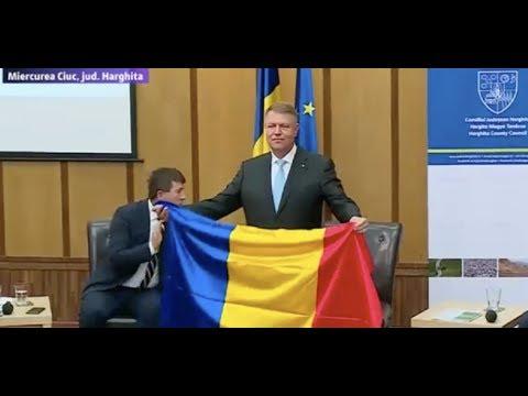 Klaus Iohannis vizita la Miercurea Ciuc 18 iulie 2017