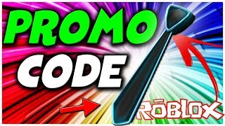 [ROBLOX PROMO CODE] HOW TO GET THE NEON BLUE TIE *WORKING* Neon Blue Tie CODE!
