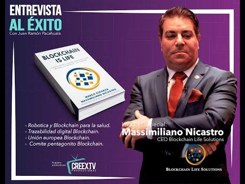 Entrevista al Éxito con Massimiliano Nicastro (CEO Blockchain Life Solutions)