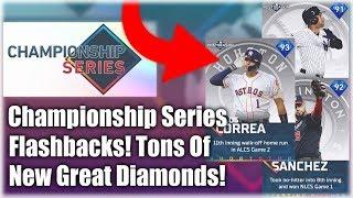 New Championship Series Flashbacks! Insane New Diamonds Added! MLB The Show 19 Diamond Dynasty
