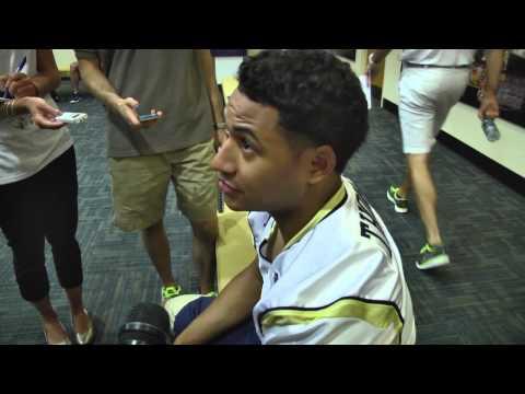 #GTCAMP14 Media Day: Jamal Golden, Justin Thomas, Isaiah Johnson