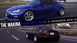 THE MAKİNA | SUBARU BRZ & MAZDA MX-5 MIATA - ROCKET BUNNY [NOSTALJİ]