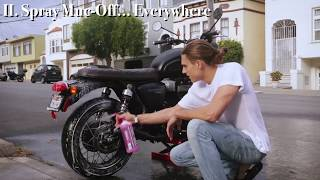 How to Clean Your Motorcycle - The Right Way (Custom 2017 Triumph Bonneville T100 Black)