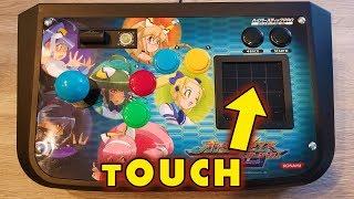 Arcade Touch Controller Strip Down and Gameplay from Konami Otomedius