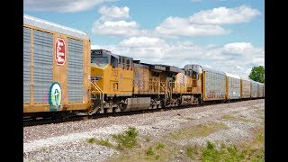 HD: 5/30/19 UP Trains On The Chester Subdivision