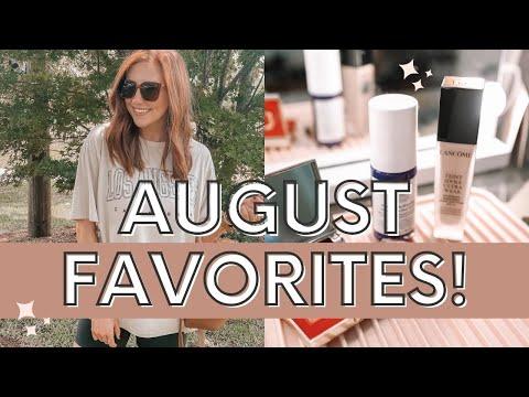 AUGUST FAVORITES! Beauty, Fashion, Lifestyle Favorites + More!    Moriah Robinson - Видео онлайн