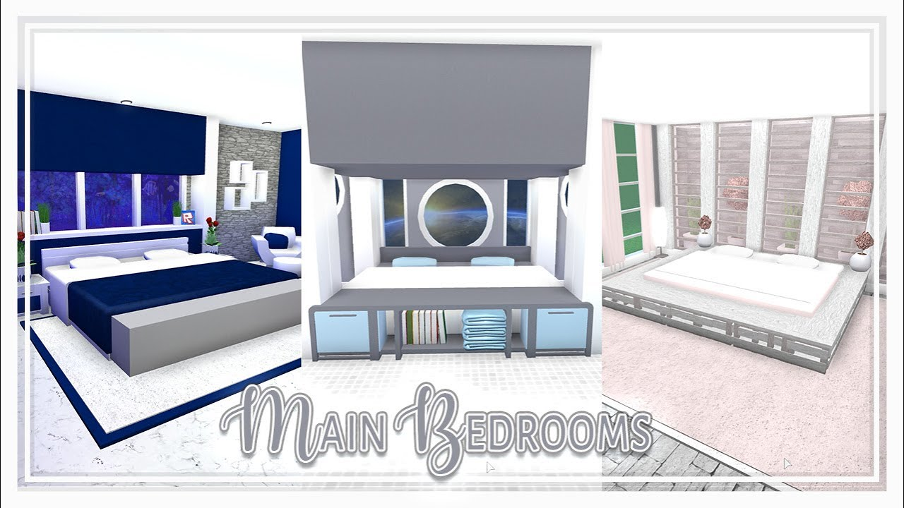 Bloxburg Themed Rooms Master Bedrooms W Bathrooms