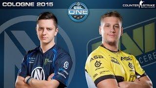 CS:GO - EnVyUS vs. NaVi [Mirage] - ESL One Cologne 2015 - Quarterfinal Map 2