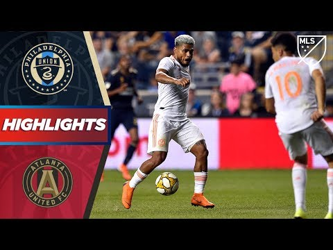 Philadelphia Union vs. Atlanta United FC | HIGHLIGHTS - Augu