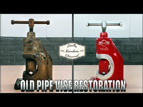 Vintage Vise Restoration ( Much nicer than my last attempt! )