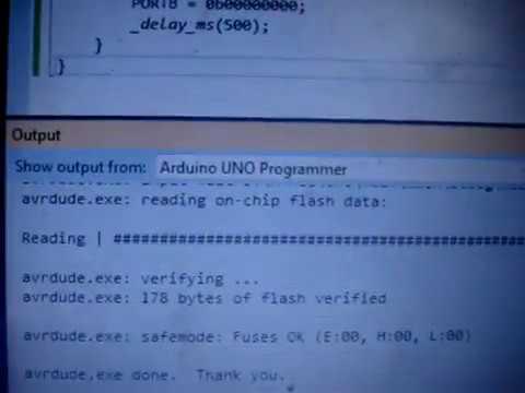 How to program Arduino using ATMEL Studio 7 - eewriter