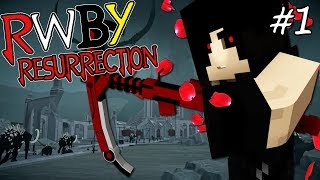 TEAM GIZMO REUNITED! || RWBY Resurrection Modpack Episode 1 (Minecraft RWBY Mod)