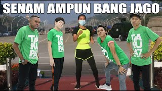 Download SENAM AEROBIC AMPUN BANG JAGO DI DEPAN KUDETA MYANMAR  - VERSI COWOK