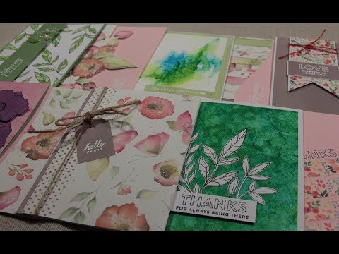 10 Cards 1 Kit!  SSS May 2019 - Delicate Flowers