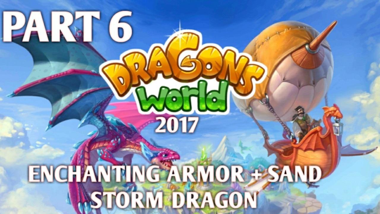 Sand Storm Dragon Enchanting Armor Dragons World 2017 Youtube I really wanted a dragon oc so i've made one. sand storm dragon enchanting armor dragons world 2017
