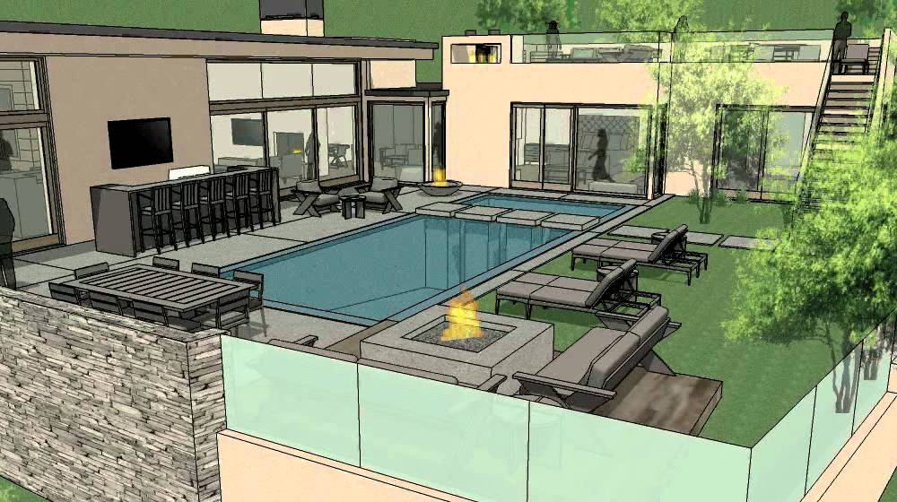 Wallace Ridge Trousdale CA YouTube - Contemporary wallace ridge house by whipple russell architects