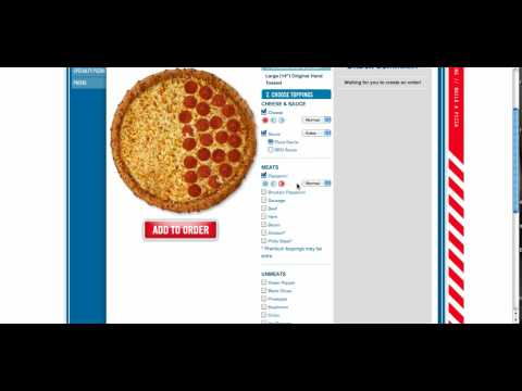 Domino's Pizza  Build Your Own Pizza  Online Ordering
