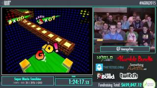 Awesome Games Done Quick 2015 - Part 156 - Super Mario Sunshine by AverageTrey