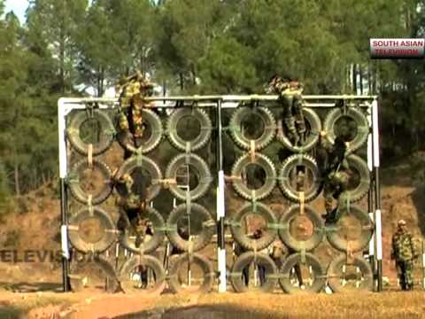 Rigorous training of Indian Army