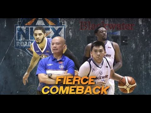 NLEX Road Warriors vs Blackwater Elite | PBA Governors' Cup 2018 Eliminations