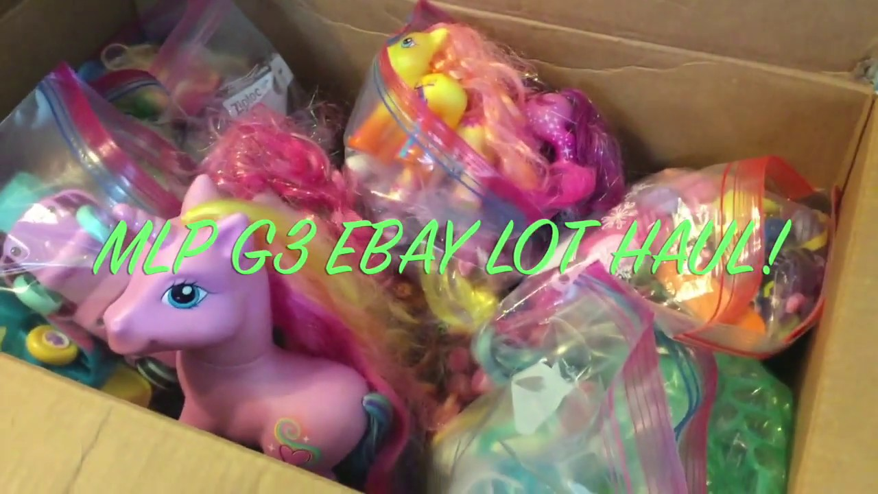 My Little Pony Ebay Lot Haul Mlp G3 G4 Accessories And More Youtube
