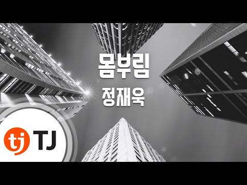 [TJ노래방] 몸부림 - 정재욱(Jung, Jae-Wook) / TJ Karaoke