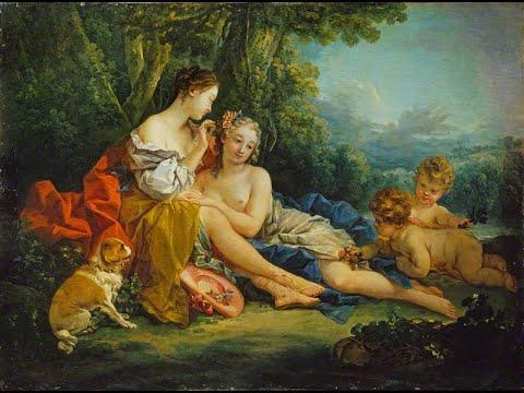 François Boucher (1703-1770) ✽ French artist,Rococo style
