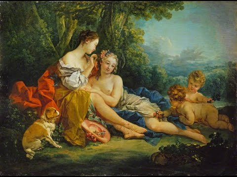François Boucher (1703-1770) ✽ French artist,Rococo style