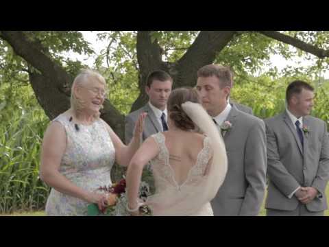 Hilary and Brady: Minnesota wedding video