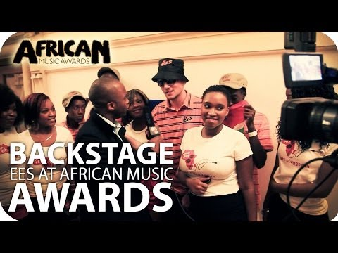 Backstage Report of EES at Africa Music Awards 2010