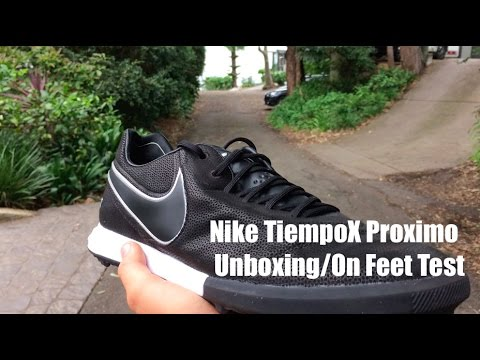 4e70187ceeffb7 NIKE TIEMPOX PROXIMO UNBOXING ON FEET TEST!!! - YouTube