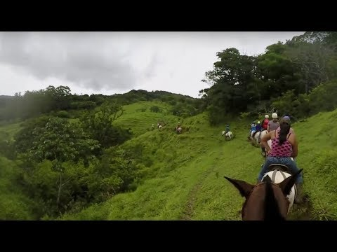 2017 Monteverde horseback riding Costa Rica