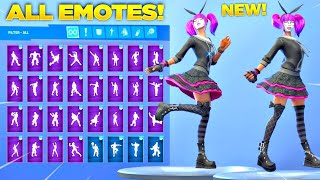 *New* FORTNITE LACE SKIN (120+ EMOTES)