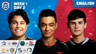 Clash Royale League: CRL West Fall 2019 | Week 1 Day 2! (English)