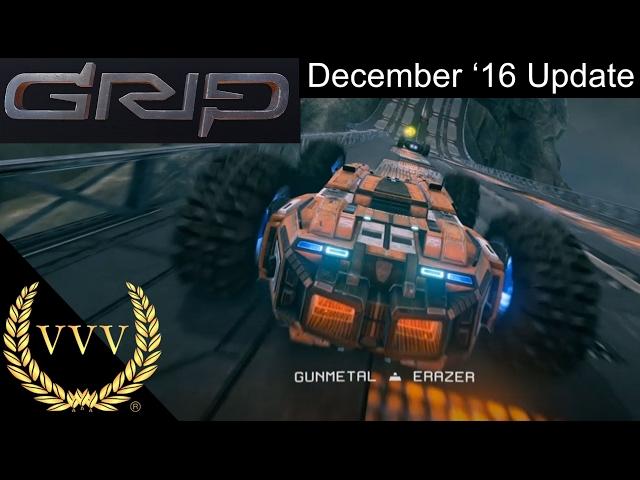 GRIP: Combat Racing - Dec '16 Update Gameplay