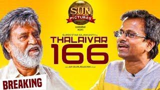 MASSIVE BREAKING: Thalaivar 166   Rajinikanth's Next After Petta   AR Murugadoss   Sun Pictures