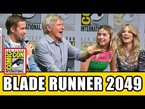 BLADE RUNNER 2049 Comic Con Panel  & Highlights