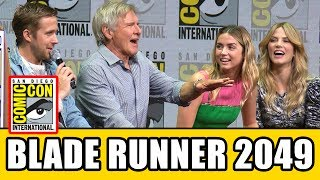 BLADE RUNNER 2049 Comic Con Panel News & Highlights