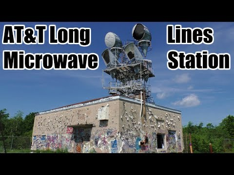 ABANDONED At&t Long Lines Tower Station