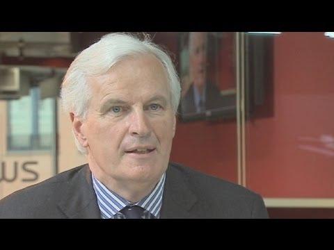 """euronews interview - Barnier : """"mon travail, remettre de la morale et les marchés financiers au service de..."""