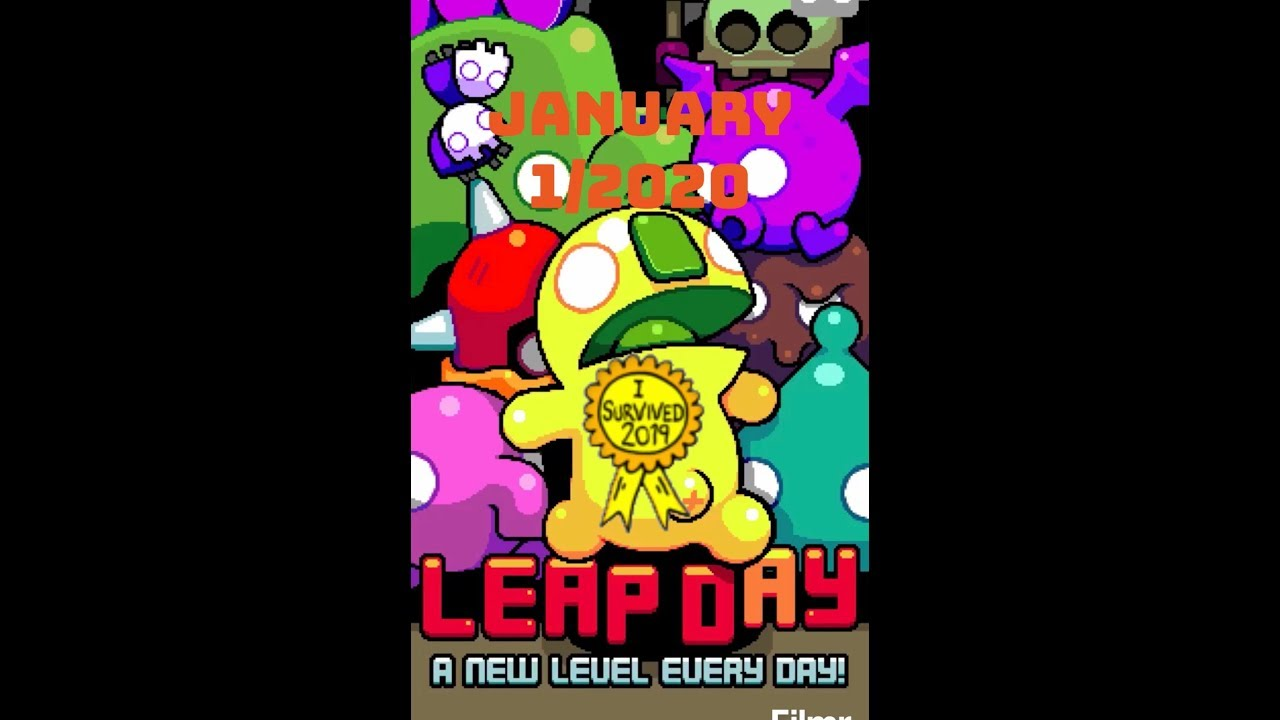 Leap Day (January 1/2020)