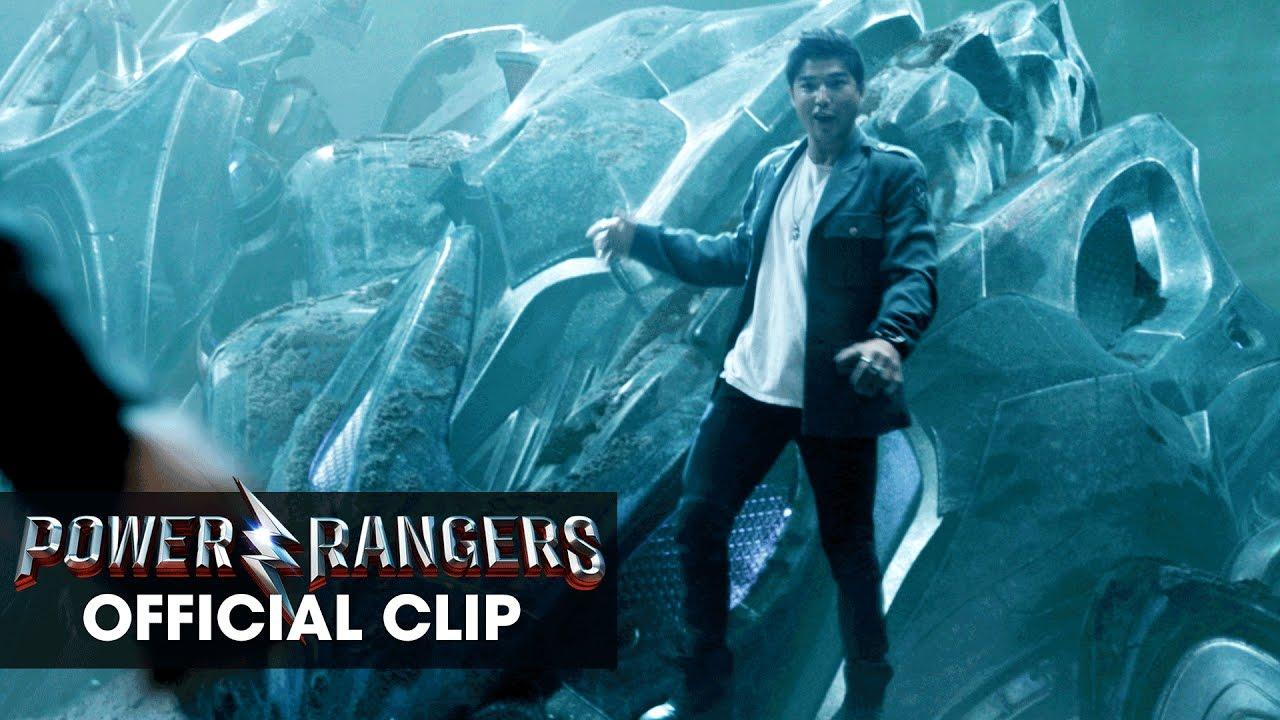 Power Rangers (2017 Movie) Official Clip - 'Zack Crash'