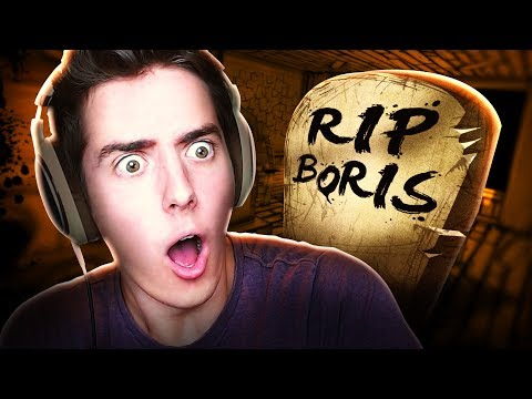 THE DEATH OF BORIS | Bendy and the Ink Machine - Chapter 3 Ending