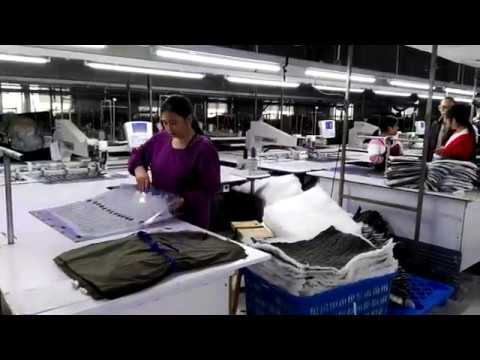China Jacket Factory: How To Sew Automatically