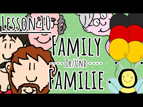 German Course for Children Familie Family 10