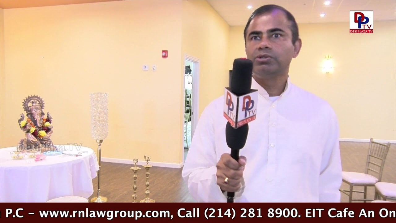 "Mohan Padigala of Frisco Speaks to DPT at ""Oh Life - Relax Please"" - Swami Sukhabodhananda"