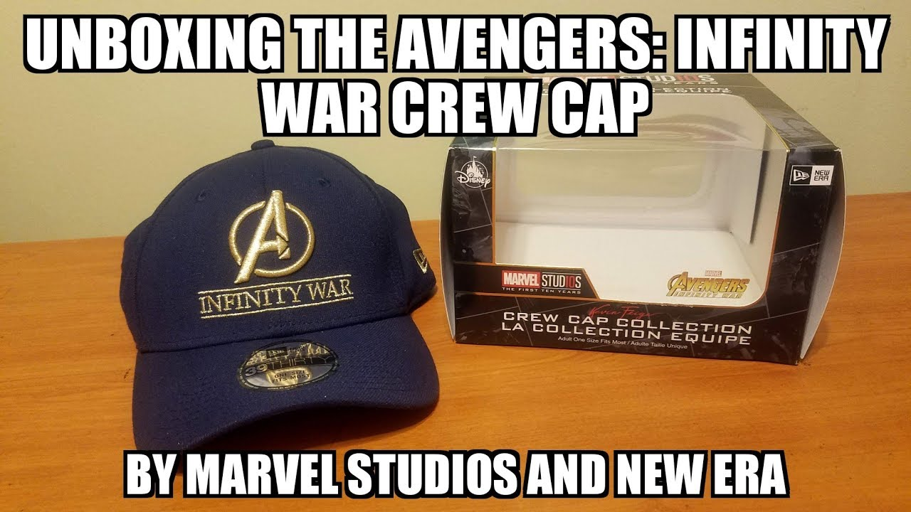 9d9d69b5e66 Unboxing the Marvel Avengers  Infinity War Crew Cap by New Era - YouTube