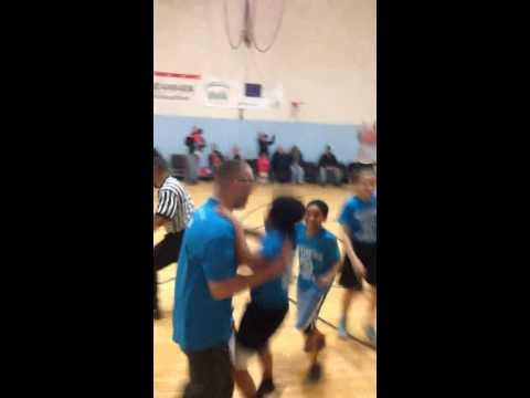 Brayam scores the game winning basket!