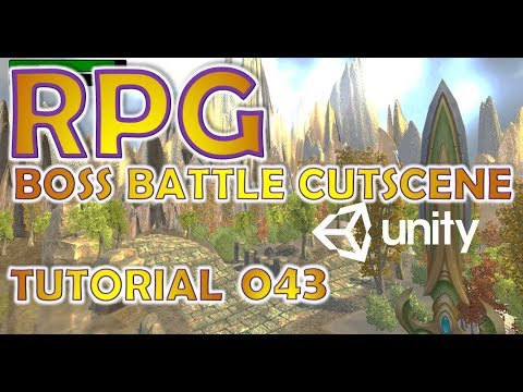 How To Make An RPG For FREE - Unity Tutorial #043 - BOSS + CUTSCENE thumbnail